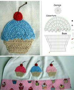 Muffin Capcuke crochet