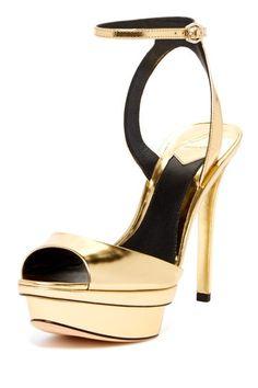 Femme Fatal Peep Toe Dress Sandal by B Brian Atwood on @HauteLook