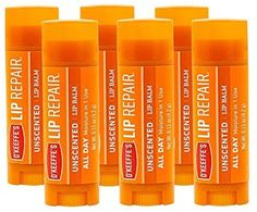 Amazon.com: O'Keeffe's Unscented Lip Repair Lip Balm for Dry, Cracked Lips, Stick, (Pack of 6): Home Improvement Crack Sticks, Stick O, Cracked Lips, Lip Balm Tubes, Dry Lips, Red Bull, Gift Guide, The Balm, Home Improvement