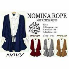 Saya menjual Nomina Rope seharga Rp65.000. Dapatkan produk ini hanya di Shopee! https://shopee.co.id/aliaism/12483924 #ShopeeID