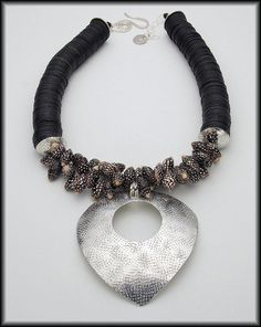 NASSA Exotic Shells African Vulcanite by sandrawebsterjewelry, $177.00