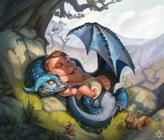 """Sixth one in a series of tiny dragons for Peter Fane's """"Tales from the Canon of Tarn. You can find his description for this dragon species here Dragon Artwork, Magical Creatures, Fantasy Characters, Dungeons And Dragons, Cute Drawings, Amazing Art, Awesome, Character Art, Fantasy Art"""