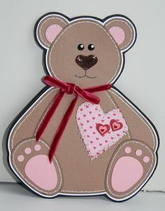 bamse Scrapbooking, Minnie Mouse, Templates, Sewing, Disney Characters, Artwork, Cards, Pink, Inspiration