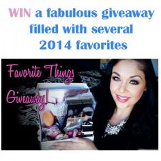 Win a fabulous giveaway filled with several 2014 favorites ^_^ http://www.pintalabios.info/en/fashion-giveaways/view/en/3317 #International #MakeUp #bbloggers #Giweaway