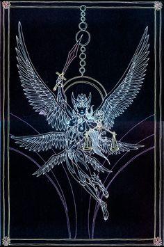 Arcana - Justice by Lakandiwa on DeviantArt Occult Symbols, Occult Art, Graffiti Art, Justice Tarot, Esoteric Art, Pagan Art, Owl Tattoo Design, Angel Warrior, Tarot Major Arcana