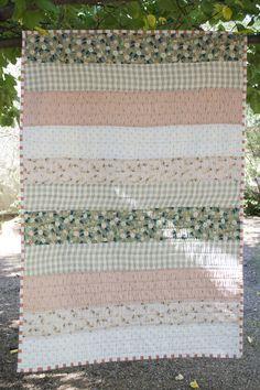 Double Gauze Stripe Quilt by Julie Williams