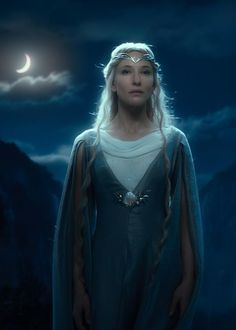 Galadriel in The Hobbit: An Unexpected Journey. Which I saw opening night last night. And just...oh my. Wonderful. Truly wonderful.