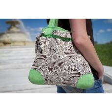 Better Life Bags, 'Cyndi' - you get to pick and design all of the fabrics involved! Better Life Bags, Custom Bags, Luggage Bags, Pattern Fashion, Custom Fabric, Diaper Bag, Purses And Bags, Gym Shorts Womens, Shabby Chic