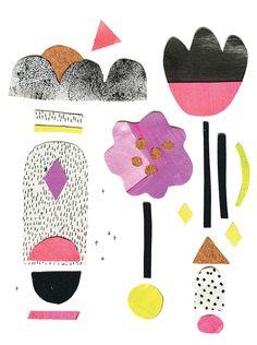 'Enemies Yay' card designby Melbourne design/ illustration collaboratorsLaura Blythman and Peter Cromer