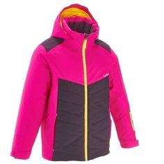 24aac7353d54 Chaqueta de esquí niña ski-p jkt 500 rosa y violeta