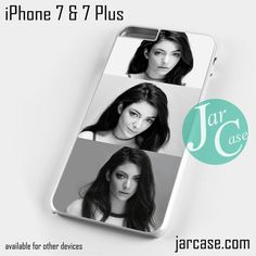 lorde pictures Phone case for iPhone 7 and 7 Plus
