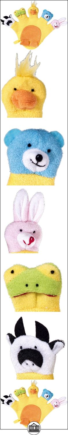 Bieco 04004110 - Guante de baño con muñecos (22 x 29 x 2 cm aprox.), color amarillo.  ✿ Regalos para recién nacidos - Bebes ✿ ▬► Ver oferta: http://comprar.io/goto/B00LPNQOOC
