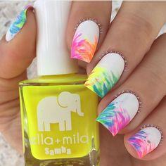 。:°ஐ*。:°ʚ♥ɞ*。:°ஐ* #nailpolish #nails #white #color