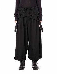 Шерстяные брюки Yohji Yamamoto - купить