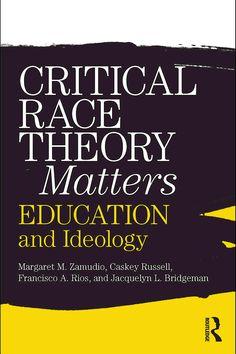 education n ideology by zamudio m et al