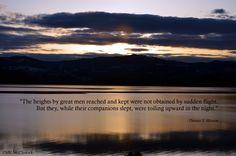 Quote by Thomas S. Monson  Image ©MK McClintock