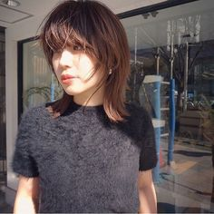 Pin on Hair Pin on Hair Pelo Ulzzang, Hair Inspo, Hair Inspiration, Medium Hair Styles, Short Hair Styles, Medium Layered Hair, Ideal Beauty, Dope Hairstyles, Hair Strand