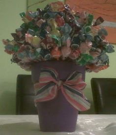 My fab. Lollipop Plant!!!!! Great for rewards/incentives + decor. Check out my blog for more details & a great GIVEAWAY! www.TeachersTreasure.blogspot.com