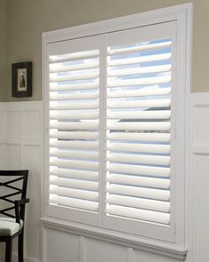 More Plantation Shutter Love   This Time With A Hidden Tilt Rod! (Hunter  Douglas