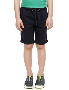 2 Pack Pure Cotton Assorted Shorts (1-7 Years) | M&S