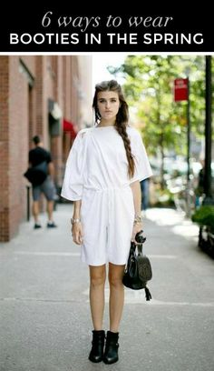 6 ways to wear booties this spring