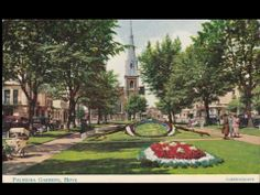old postcard of Palmeira Square, Hove