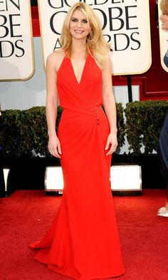 Claire Danes At The Golden Globes 2013