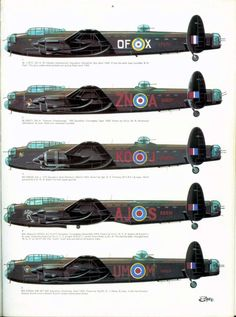12 - Avro-Lancaster Page Ww2 Aircraft, Military Aircraft, Ala Delta, Camouflage, Lancaster Bomber, War Machine, Machine Guns, Aircraft Painting, Ww2 Planes
