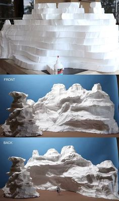 "Ever wonder how masterful mini mountains come to life? Stephen Hayford breaks it down into easy steps for this ""top secret"" project. Wonder what it could be for? #modelrailway"