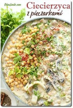 Chickpea Recipes, Vegan Recipes, Pizza Recipes, Dinner Recipes, Best Food Ever, Mushroom Recipes, Chana Masala, Pasta Salad, Stuffed Mushrooms