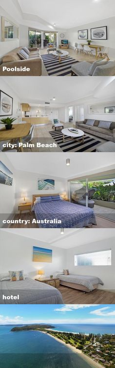 Poolside, city: Palm Beach, country: Australia, hotel Australia Hotels, Palm Beach, Country, City, Rural Area, Cities, Country Music