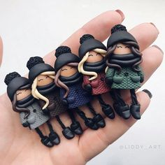 1 million+ Stunning Free Images to Use Anywhere Polymer Clay People, Cute Polymer Clay, Polymer Clay Dolls, Polymer Clay Projects, Polymer Clay Charms, Polymer Clay Creations, Polymer Clay Jewelry, Clay Crafts, Polymer Clay Sculptures