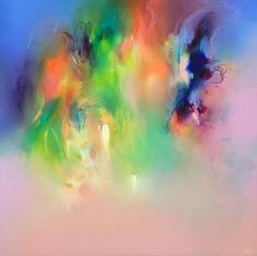 Liv Vardy - Painting -  Abstract - Opal