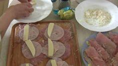 Kuracie prsia plnené šunkou a syrom