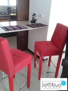 Sillas para barra americana Bar Chairs, Dining Chairs, Furniture, Home Decor, Chairs, Home, Bar Stool Chairs, Homemade Home Decor, Home Furnishings