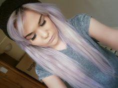 How I got silver/lilac hair