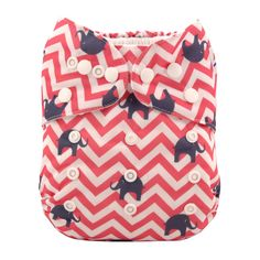 Amazon.com : Alva Baby New Design Reuseable Washable Pocket Cloth Diaper Nappy + 2 Inserts H001 : Baby