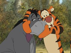 Tigger knows how to turn a frown upside down! Winnie The Pooh Friends, Disney Winnie The Pooh, Disney Love, Disney Art, Tigger Disney, Disney And More, Cartoon Wallpaper, Cute Disney Wallpaper, Eeyore Pictures