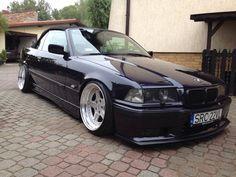 BMW cabrio on cult classic OZ AC Schnitzer type 1 wheels Bmw E36 Drift, E30 Convertible, E36 Cabrio, E36 Coupe, Ac Schnitzer, Bmw E30 M3, Tuner Cars, Bmw 3 Series, Bmw Cars