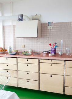 Doorzon kitchen Stefanie Everaert