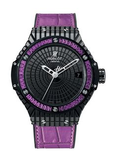 Big Bang Tutti Frutti Purple Caviar 41mm Automatic watch from Hublot