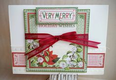 Holiday Wishes, Pinecone, Simon Says Stamp, Card Kit, Wednesday, Christmas Cards, Card Making, Challenge, Paper Crafts
