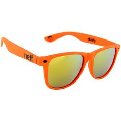 Neff Daily Sunglasses (Blue, 6.25X2X2-Inch). Aviator style sunglasses made with lightweight frame. 100% UVA & UVB blocking lenses to protect your eyes. Comes with sunglass pouch organizer to protect lenses. Blocks 100% of UV rays that polarized sunglasses can let in. Ideal sunglasses for driving, fishing, cycling, running or other outdoor activities.