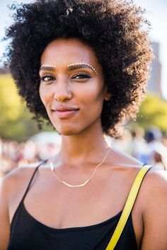 40 Afropunk Street Style Looks To Copy Now #refinery29  http://www.refinery29.com/2015/08/91360/afropunk-2015-music-festival-street-style-pictures#slide-31  Three words: Eyebrows. On. Fleek....