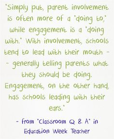 """Q & A Collections: Parent Engagement In Schools"""