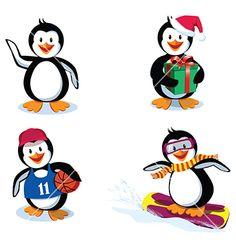 cute penguins - Google Search