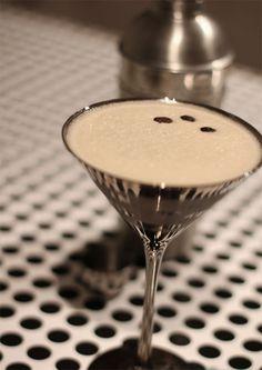 Skinny Espresso Martini: top with coconut whipped cream