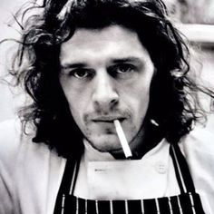 Young Marco Pierre White. They call him the godfather of cooking.
