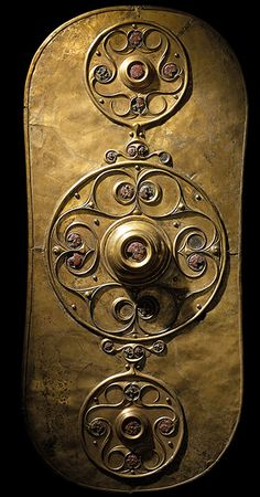 British Museum - The Battersea shield. Iron Age, c. 350–50 BC. Found in the…