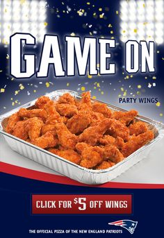 $5 Off Party Wings @ Papa Gino's Baby! Party Wings, Coupon Codes, New England, Green Beans, Baby, Food, Essen, Meals, Baby Humor
